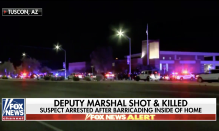 U.S. Deputy Marshal Serving Arrest Warrant Killed in Arizona