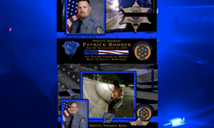 In Memoriam Deputy Sheriff Patrick Rohrer and Deputy Sheriff Theresa King