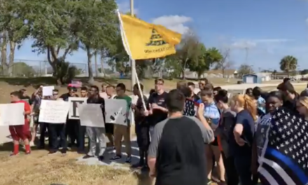 Colorado Students Walkout in Support of Second Amendment