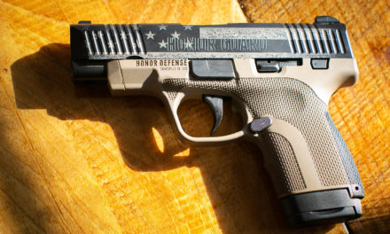 """Honor Defense Auctions off """"The Wall"""" Patriotic Pistol to Benefit C.O.P.S."""