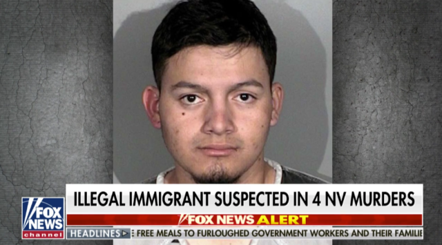 Illegal immigrant from El Salvador accused of killing four people