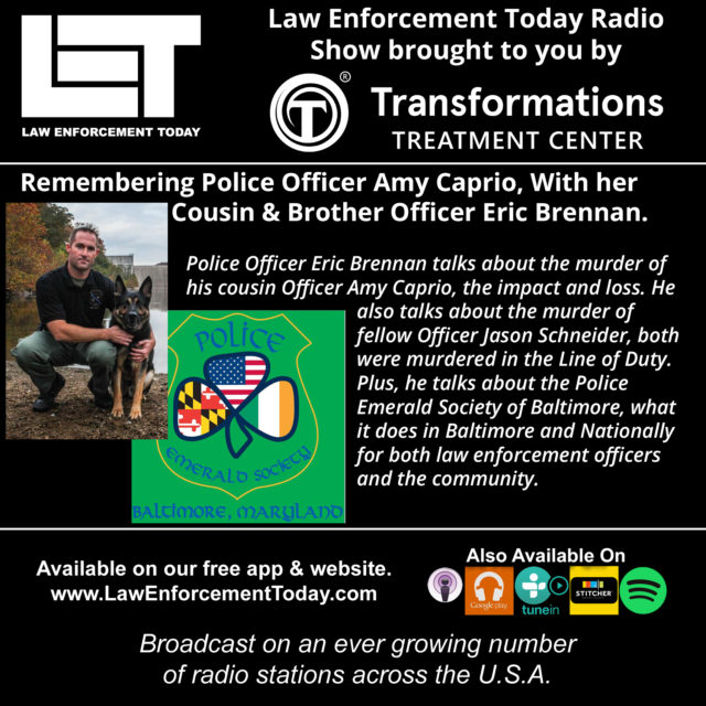(Law Enforcement Today Radio Show and Podcast cover image, by Law Enforcement Today staff)