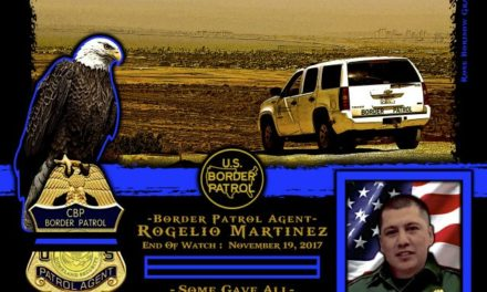 In Memoriam Customs and Border Patrol Agent Rogelio Martinez