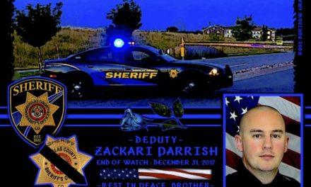 In Memoriam Deputy Sheriff Zachari Parrish