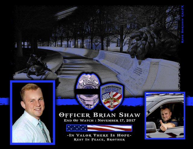 In Memoriam Officer Brian Shaw