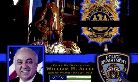 In Memoriam Detective Chief William Allee