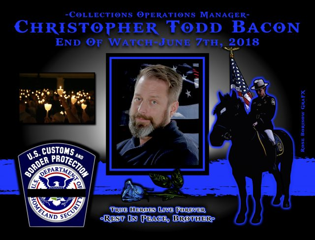 In Memoriam Intelligence Operations Manager Christopher Bacon