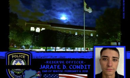In Memoriam Reserve Officer Jarate Condit