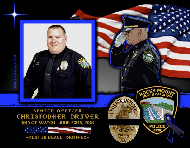 In Memoriam Senior Police Officer Christopher Driver
