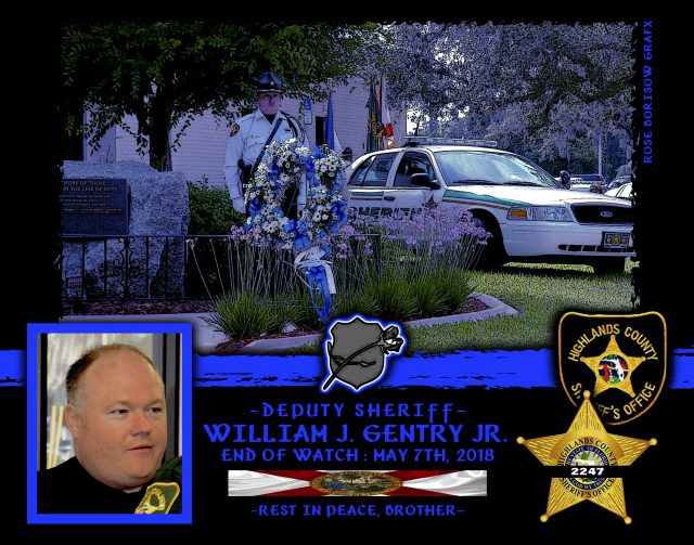 In Memoriam Deputy Sheriff William Gentry Jr.