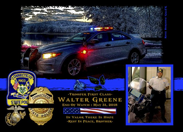 In Memoriam Trooper Walter Greene