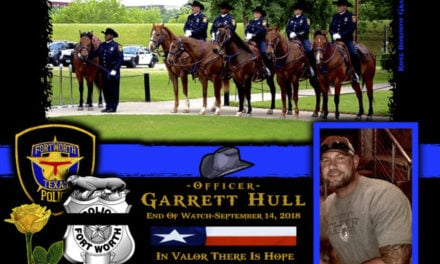 In Memoriam Officer Garrett Hull
