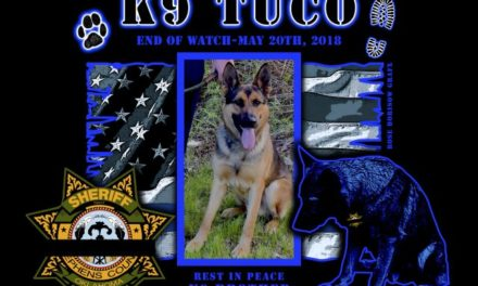 Police K9 Tuco Dies in Vehicle Fire