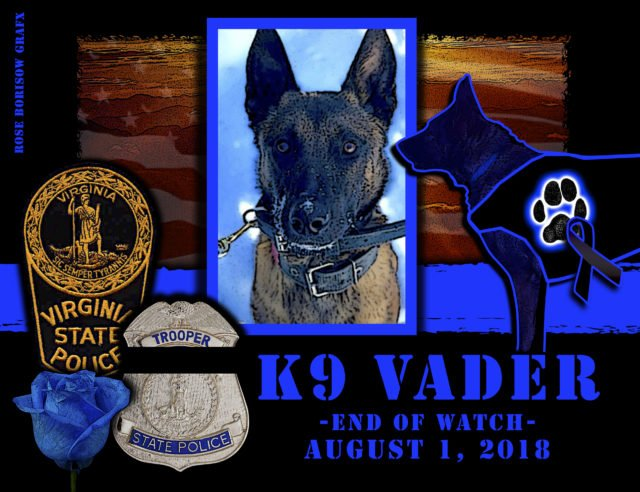 K9 Vader Killed in the Line of Duty