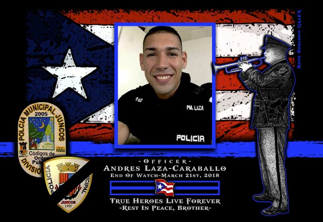 In Memoriam Officer Andres Laza-Caraballo