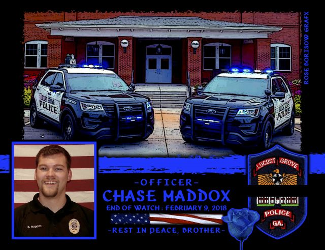 In Memoriam Officer Chase Maddox