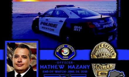In Memoriam Officer Mathew Mazany