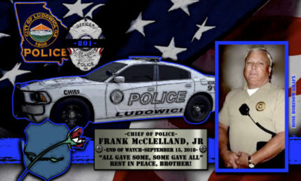 In Memoriam Chief Frank McClelland Jr.