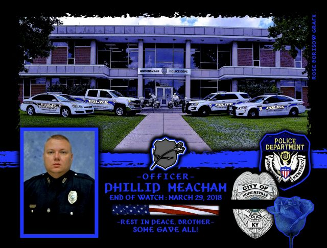 In Memoriam Officer Phillip Meacham