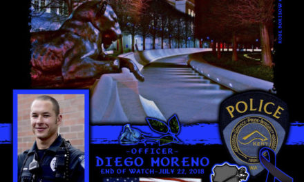 In Memoriam Officer Diego Moreno