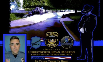 In Memoriam Officer Christopher Morton
