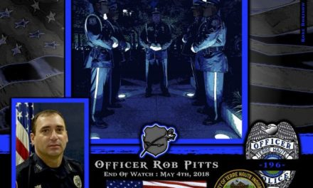 In Memoriam Officer Rob Pitts