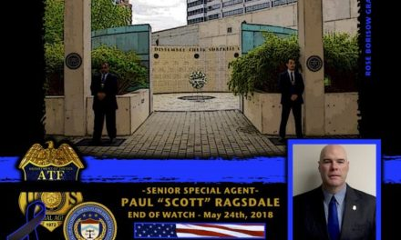 In Memoriam Senior Special Agent Paul Ragsdale