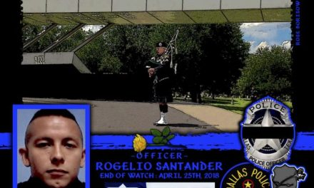 In Memoriam Officer Rogelio Santander