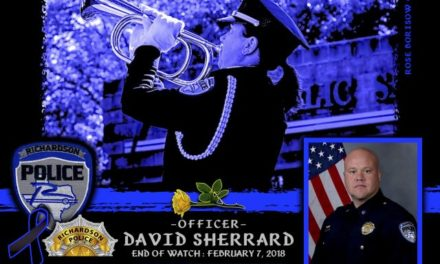 In Memoriam Officer David Sherrard