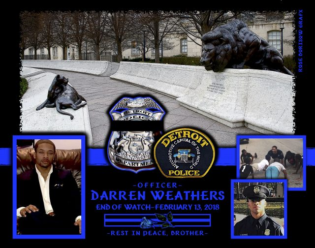 In Memoriam Officer Darren Weathers