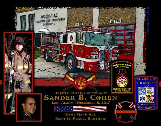 In Memoriam Deputy Chief Sander Cohen