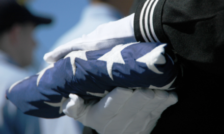 US Navy Burial Flag Rightfully Returned to Widow of Veteran