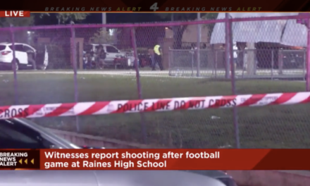 Shooting at high school football game leaves one dead, two wounded
