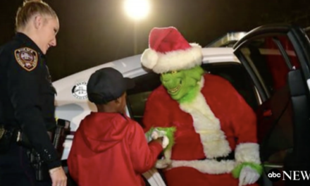 Little Boy Calls 911 to Report the Grinch Stealing Christmas