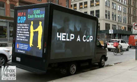 New York Police Union Offers Reward for Helping Cops
