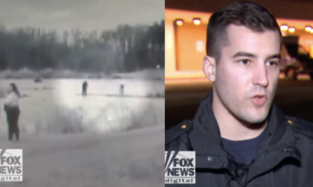 Rookie Cop Takes Heroic Plunge in Icy Waters