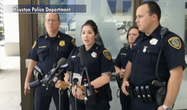 Houston police officer extends