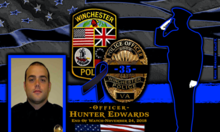 In Memoriam Officer Hunter Edwards