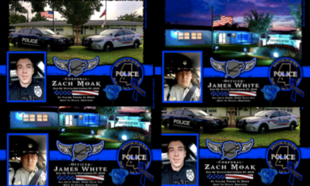 In Memoriam Corporal Zachary Moak and Patrolman James White