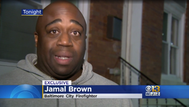 Baltimore Firefighter Takes Aim at Cops