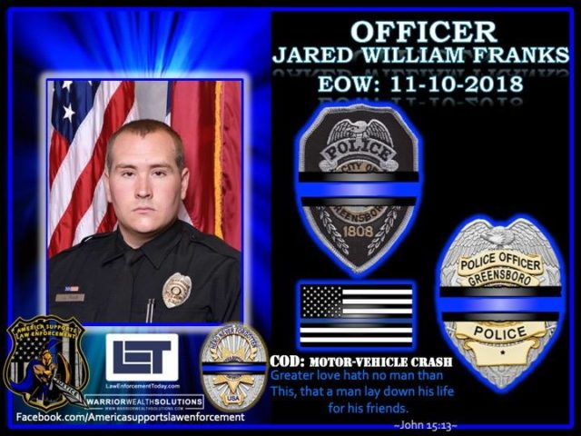 In Memoriam Officer Jared Franks