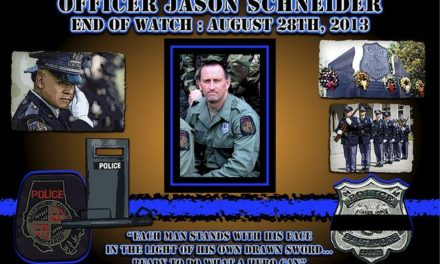 In Memoriam – Officer Jason Schneider
