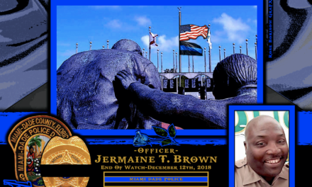 In Memoriam Officer Jermaine Brown