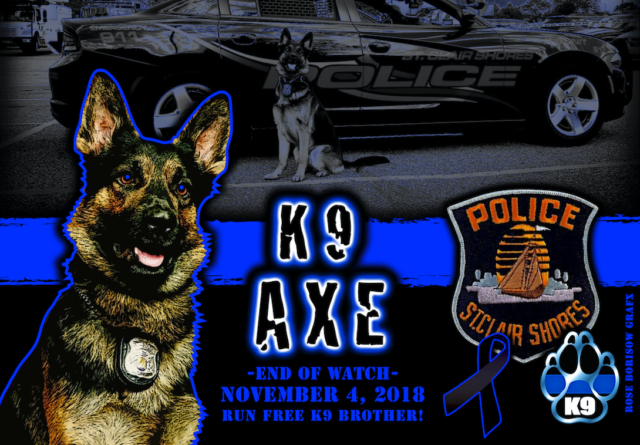 Suspect shoots and kills K9 Axe, gunman dies as officers return fire