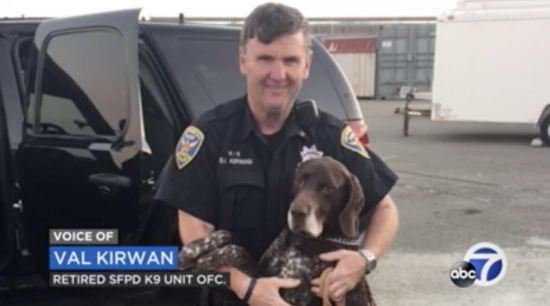 Handler and K9 Baro Separated at Retirement in Conflict With Prior Plans