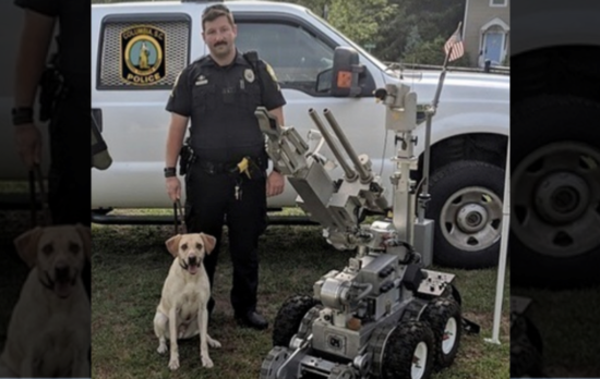 K9 handler accepts punishment after police service dog dies from heat