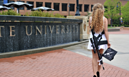 Kent State Grad Takes Photo Shoot With AR-10 on Campus
