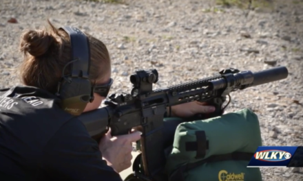 Sniper Sarah King Makes a Name for Herself
