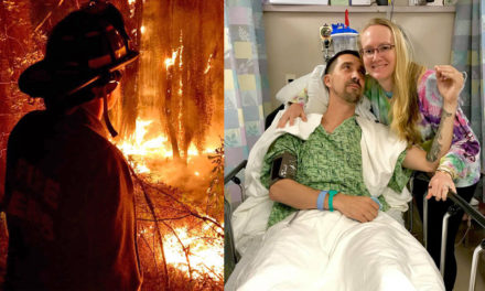 Profiles In Courage – Firefighter Kevin Rouse, Permanently Injured While Saving Lives