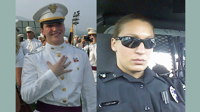 Profiles in Courage – Kimberly DeFiori and Sara Laszaic – Police Officers Helping First Responders.